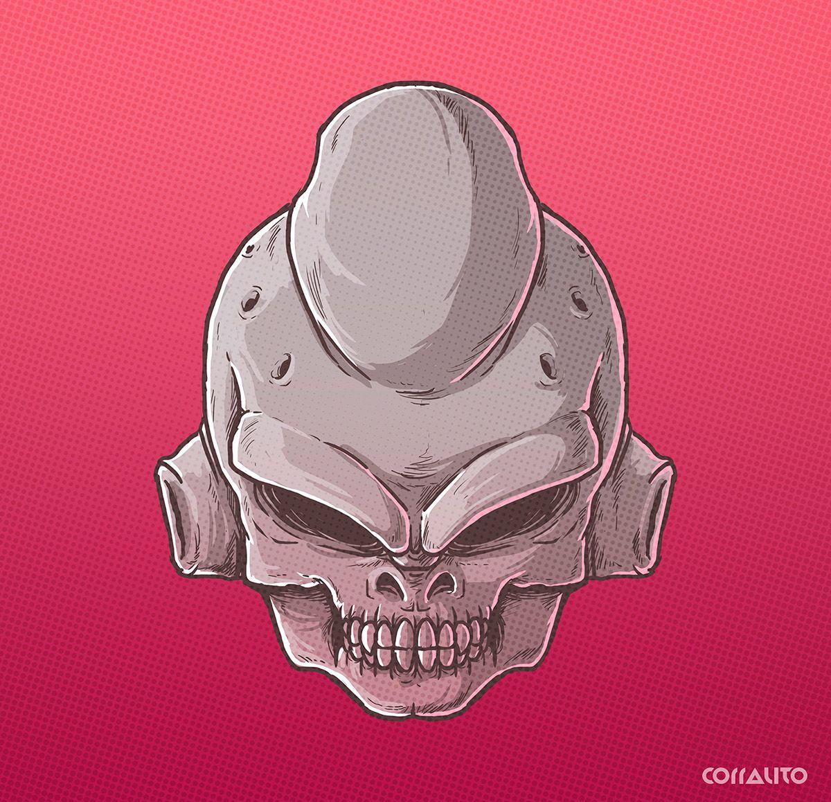 Majin Buu Skull villains DBZ