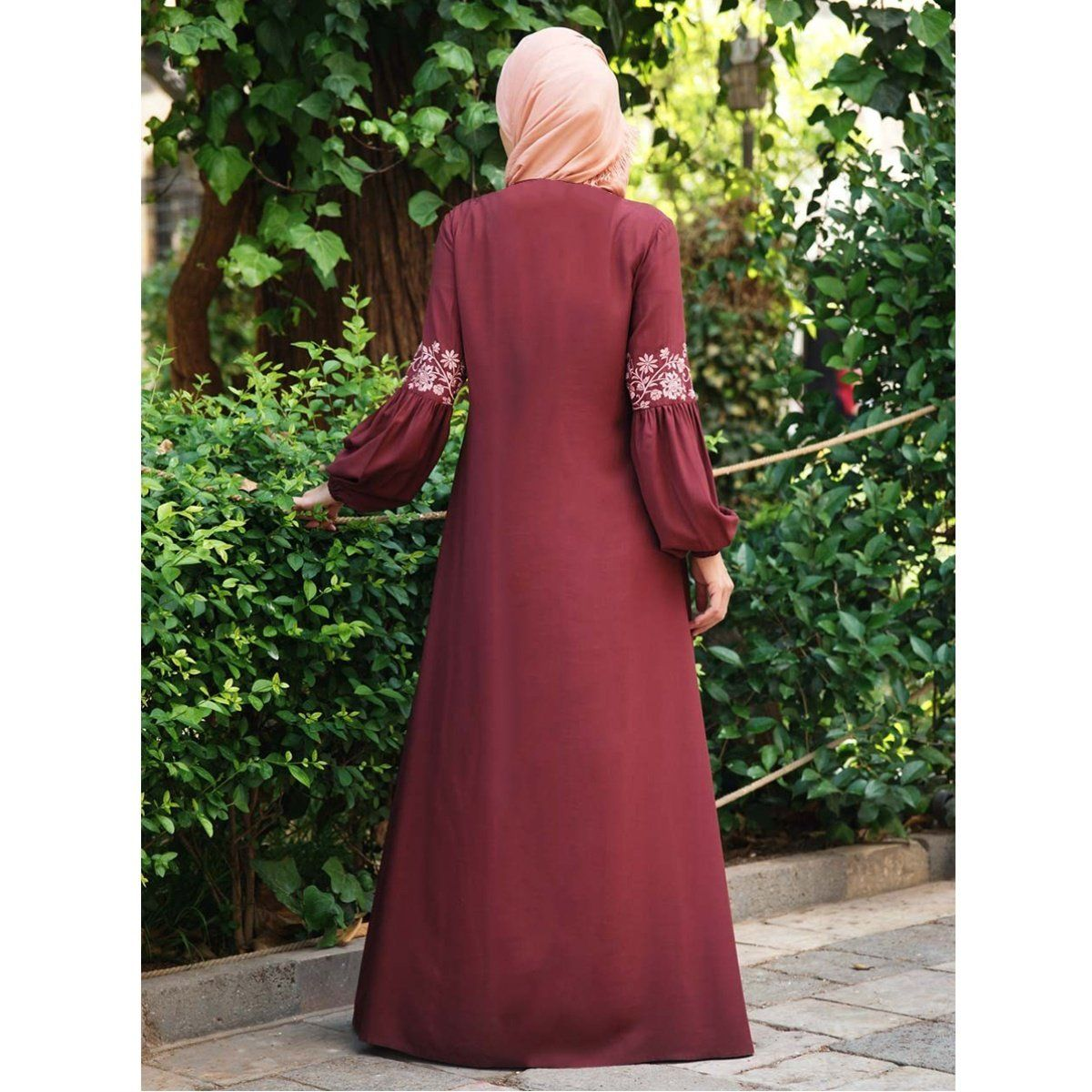 Sysea Women Muslim Dress Lace Stitching Long Sleeve Maxi Dress Walmart Com Walmart Com In 2021 Abayas Fashion Long Sleeve Maxi Dress Fashion [ 1200 x 1200 Pixel ]