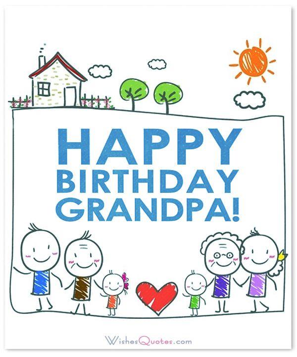 Happy Birthday Grandpabirthdaywishessms90birthday – Happy Birthday Grandpa Card