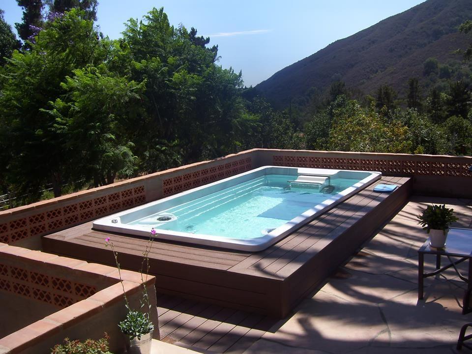 Swim Spa Photo Gallery Endless Pool Backyard Lap Pools Backyard Endless Pool