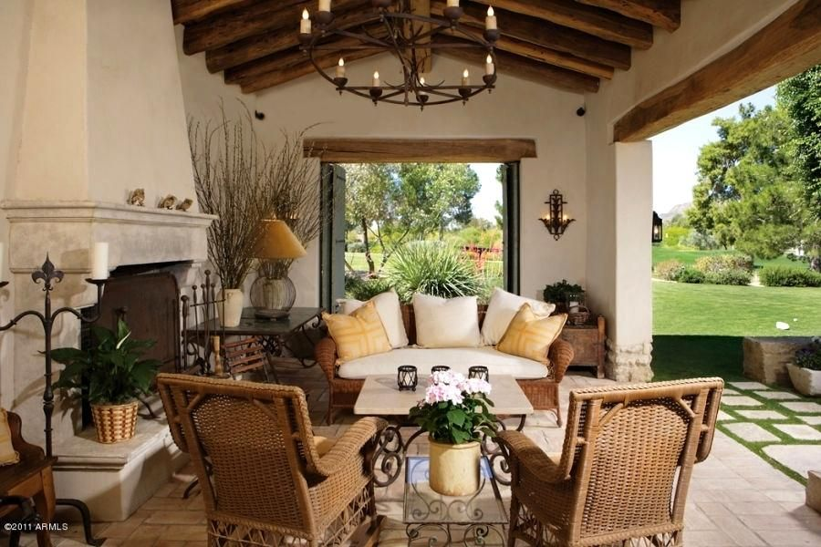 Incredible Style Patio Ideas Hacienda Size Spanish Colonial Cement Pinterest Backyard Patios Spanish Style Homes Spanish Decor Spanish Style Home