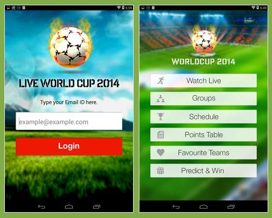 Live Football World Cup 2014 Allows Anyone Anywhere To Watch And