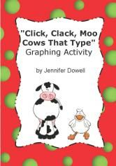 click clack moo activity - graphing - Teachers Notebook ...