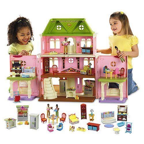 American Family Furniture Black Friday: Fisher-Price Loving FamilyTM Grand Dollhouse Super Set