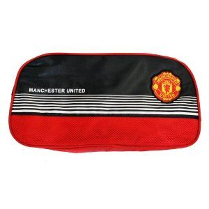 Manchester United Futbol Soccer Zipper Shoe Bag Manchester United Futbol Soccer The Unit