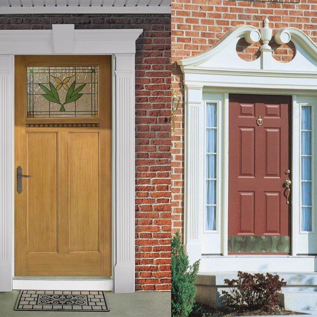 Exterior Door Casing Ideas