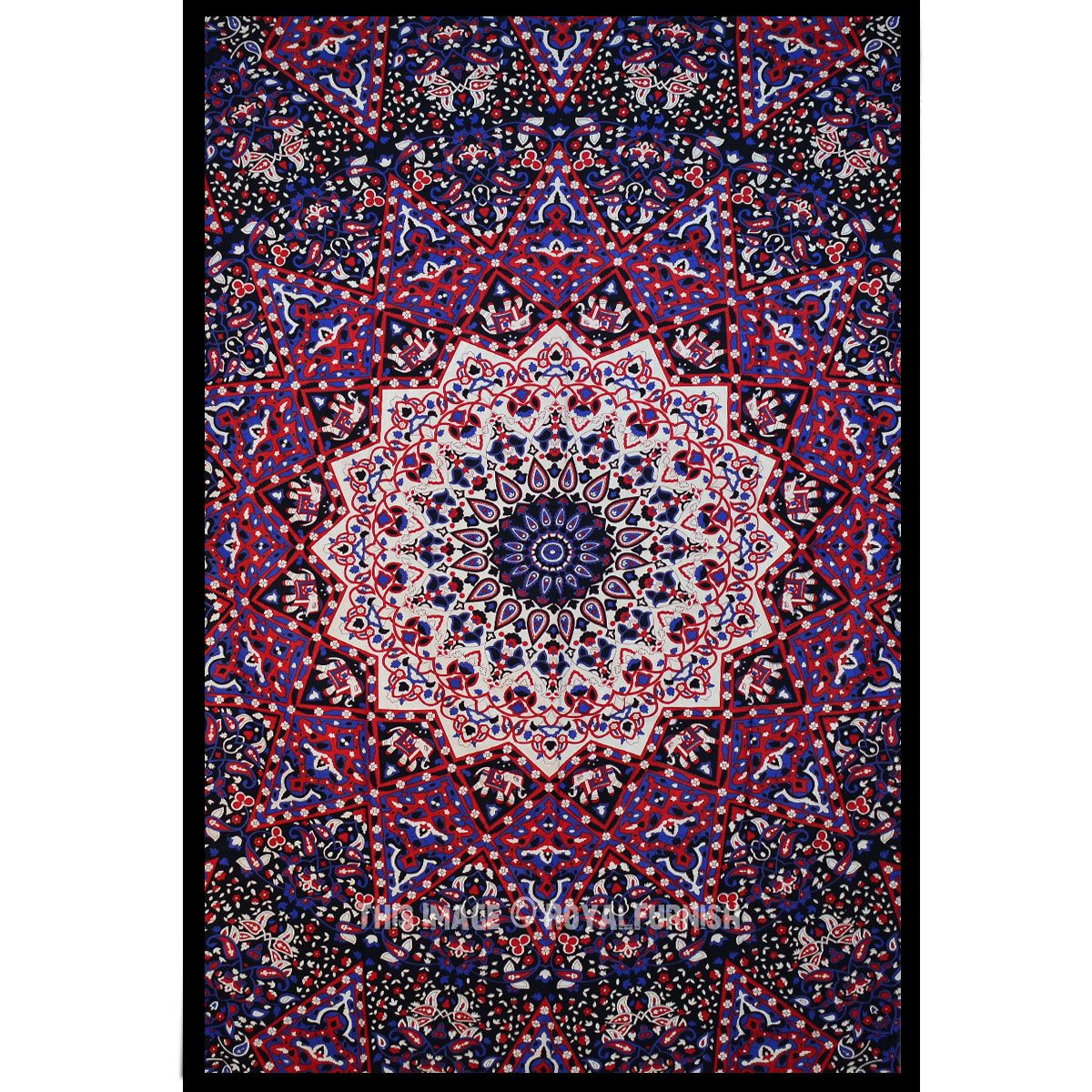 star multi mandala into tapestry printed available cotton at medallion lowest wall bedspread bedding are very and buy elephants price hippie pin tapestries
