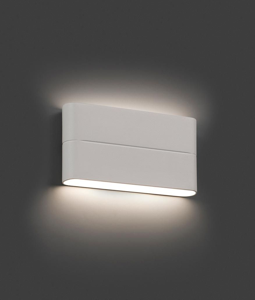 Aplique De Pared Led Blanco Aday Ambiente Apliques De Pared  ~ Apliques De Pared Para Escaleras