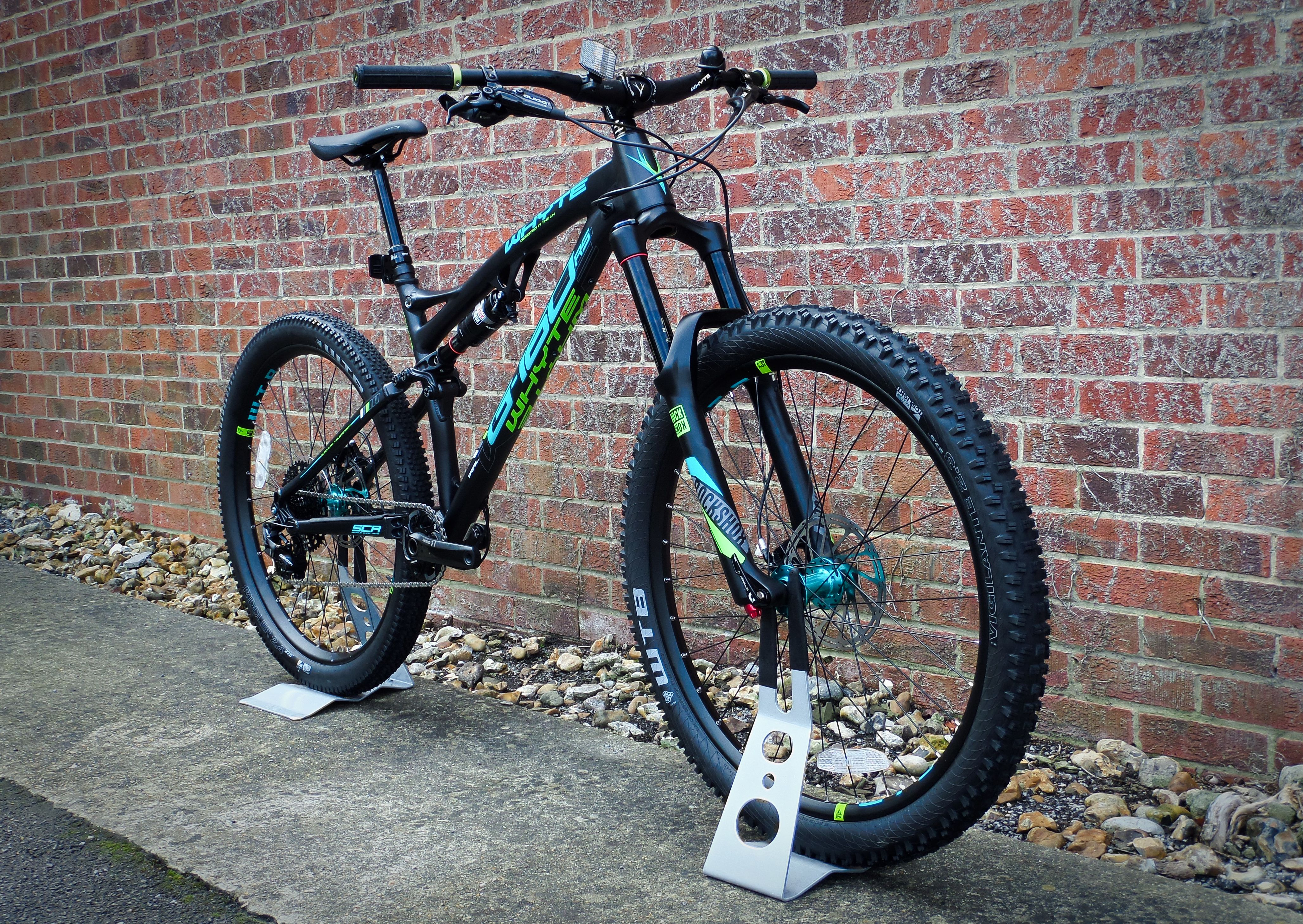 The G 160 Rs Features The Very Latest Whyte Thinking On Geometry