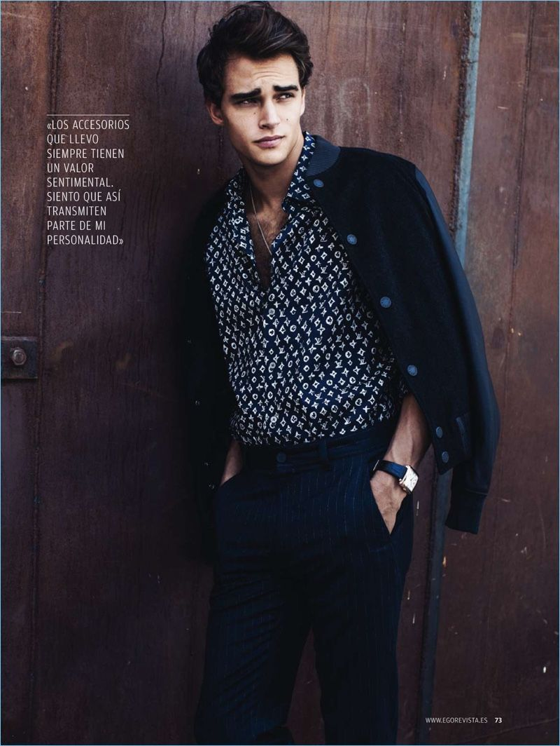 Pepe Barroso Silva Models Classic Menswear for Ego Magazine - The  Fashionisto