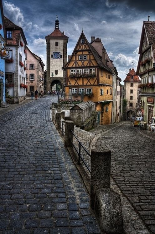inlands:  Rothenburg ob der Tauber, Germany