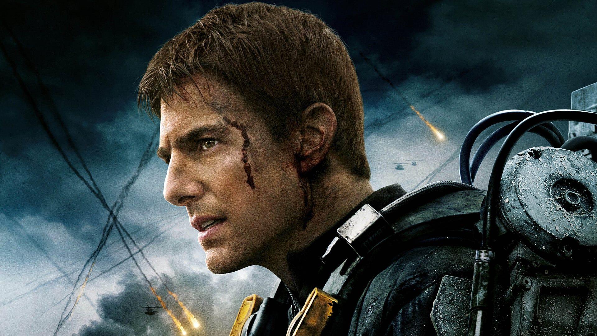 In Naher Zukunft Beginnt Eine Insektenartige Alienrasse Die Sogenannten Mimics Mit Einer Invasion Der Erde Mit Ihr Edge Of Tomorrow Tom Cruise Sci Fi Films