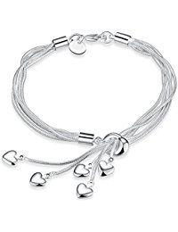 Bracelet pour femme avec coeur