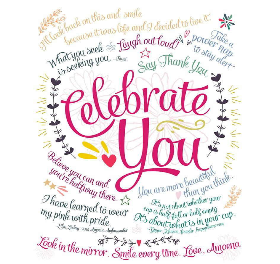 celebrate you  Celebration quotes, Be yourself quotes, You