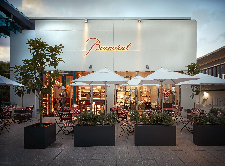 Outside The Baccarat Boutique Bbar Lounge In Miami Design District Miami Design Retail Design Design District