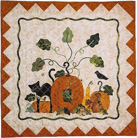 GREAT PUMPKIN P3 Designs   Halloween //Fall Table RunnerAppliquePattern