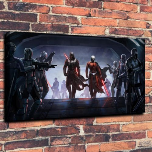 Star-Wars-Sith-Art-Print-Oil-Painting-on-Canvas-Home-Decor-Unframed