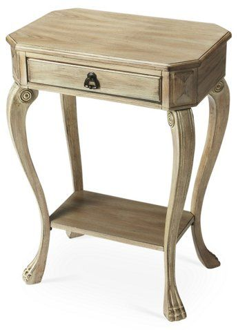 Rae Nightstand, Driftwood - Nightstands - Bedroom - Furniture One - Lane Bedroom Furniture
