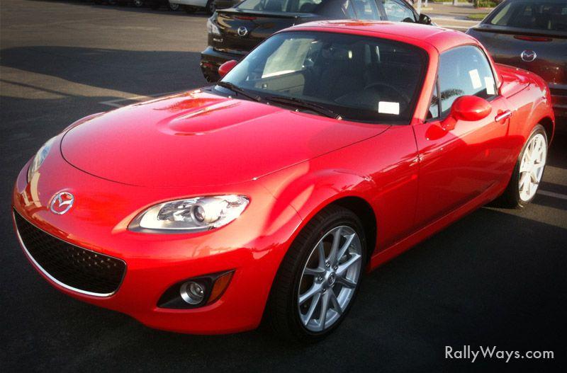 2011 Mazda MX 5 Miata Hard Top   NEW