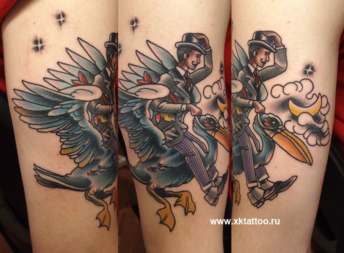 XR Tattoo - Moscow, Russia.