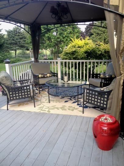 Hampton Bay Patio Furniture Warranty Canada: Hampton Bay Lynnfield 5-Piece Patio Conversation Set With