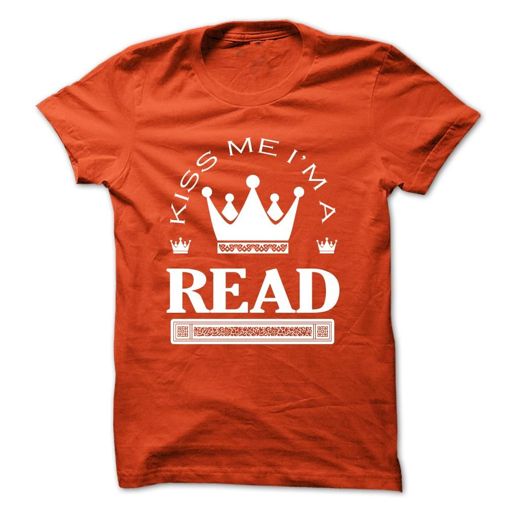 Kiss Me I Am READ Queen Day 2016 T-Shirts, Hoodies. CHECK PRICE ==► https://www.sunfrog.com/Names/Kiss-Me-I-Am-READ-Queen-Day-2015-dkgtenqsrn.html?id=41382