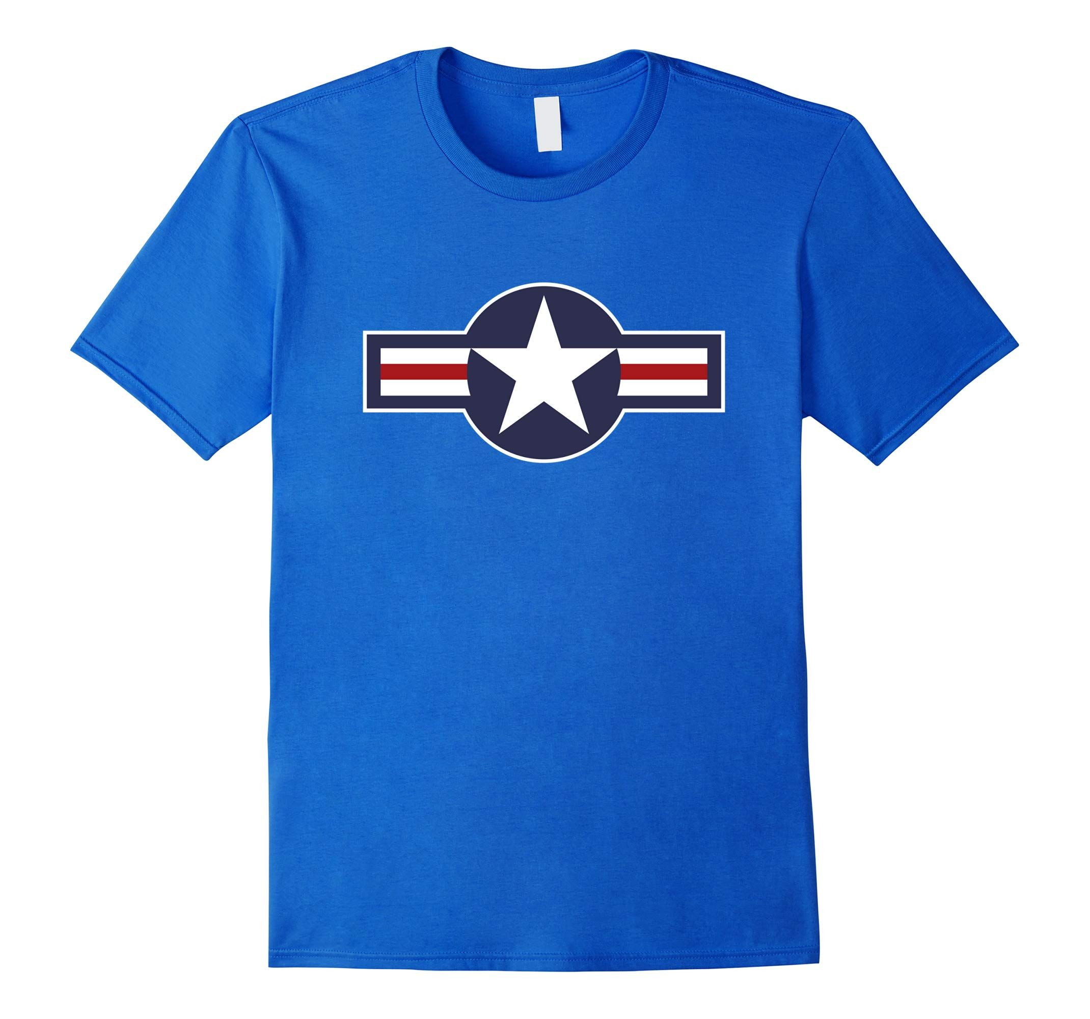 United States Air Force Vintage Roundel TShirtRT