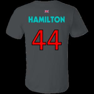 Lewis Hamilton No 44 Jersey F1 T Shirt Gray Shirts T Shirt Mens Tops