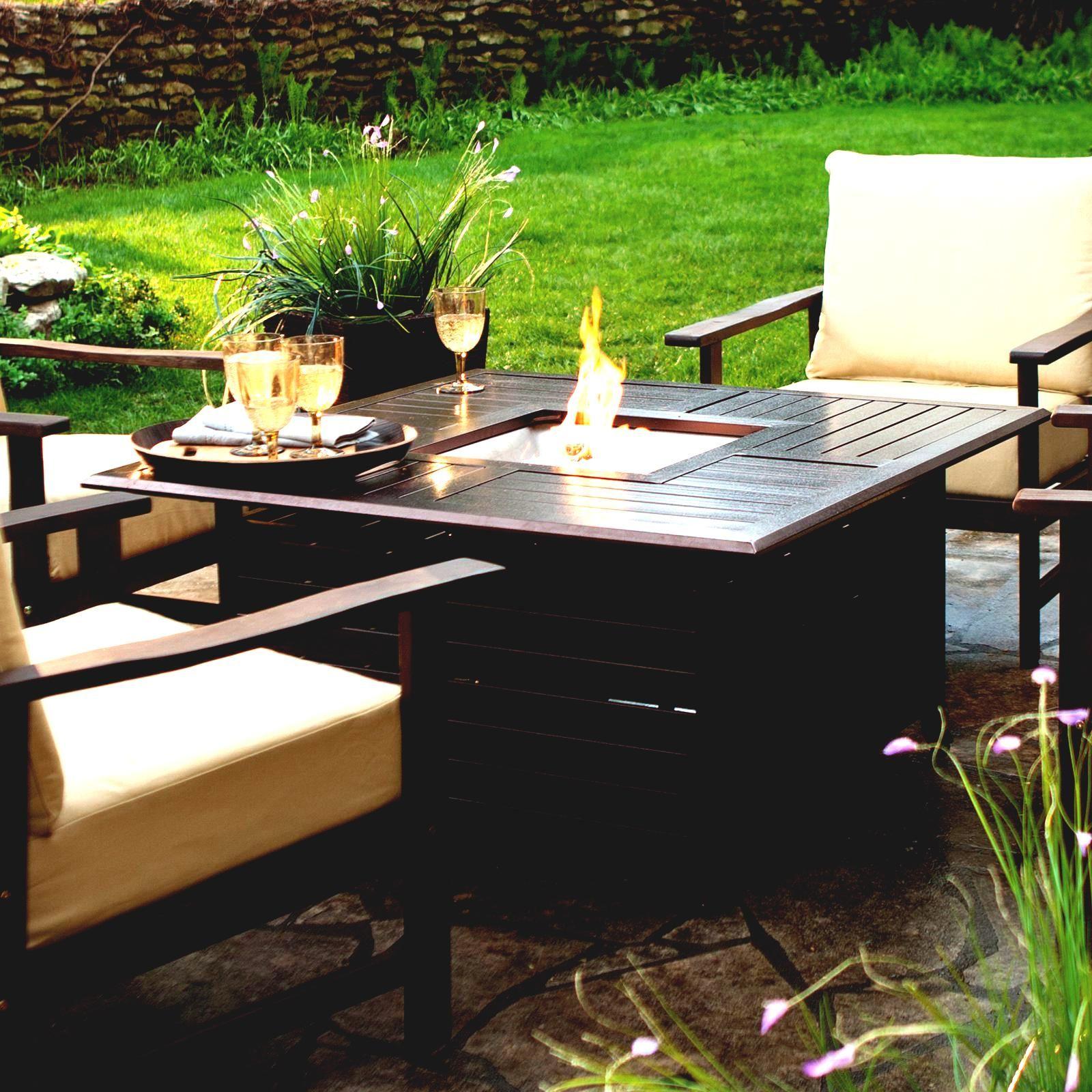 Toskanische Fliesen Mission Stil Outdoor Feuerstelle Gartendeko Propane Fire Pit Table Fire Pit Table Fire Pit Furniture