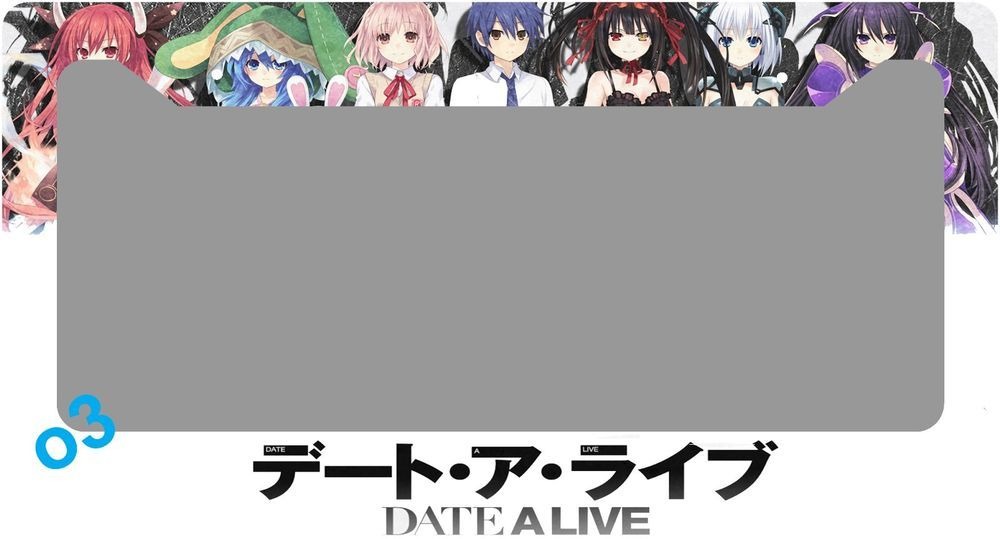 Date A Live Anime License Plate Frame Aluminum Car Auto