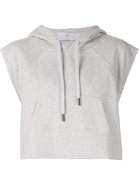 c9d47b4eb38d Shop Adidas By Stella Mccartney  Yo Crop  hoodie in D Aniello from ...