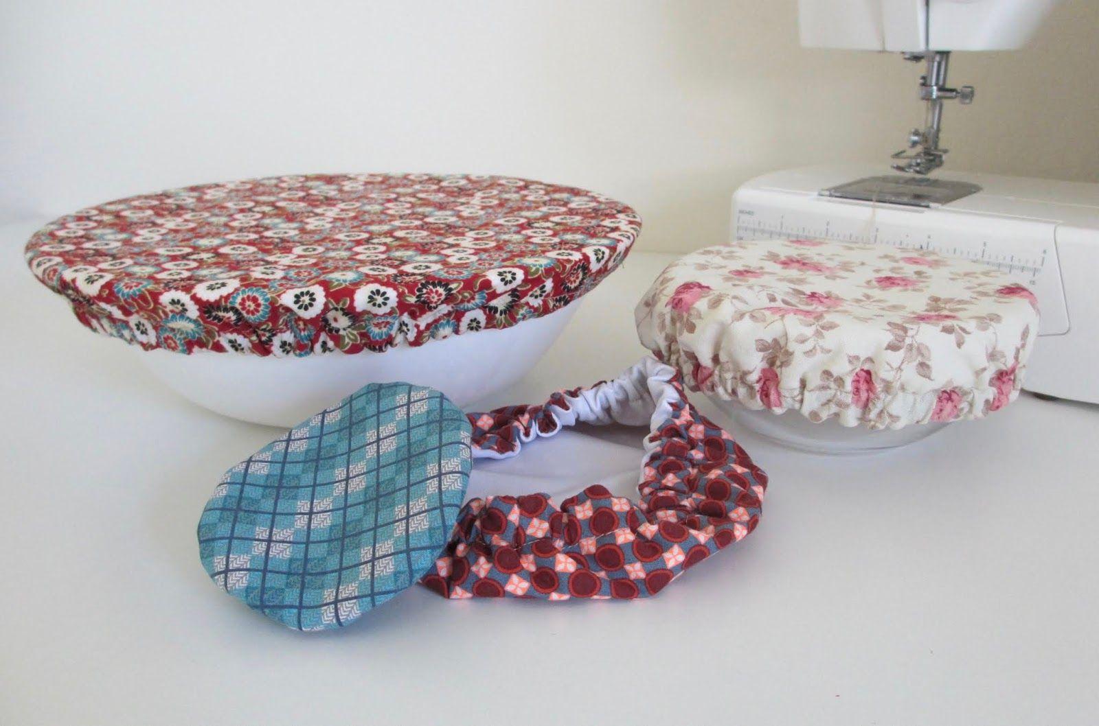 Tuto zéro déchet : le couvercle alimentaire en tissu lavable #couturezerodechet