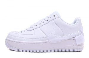 b96d7161a9c5 Mens Womens Nike WMNS Air Force 1 Jester XX White AO1220 101 Sneakers