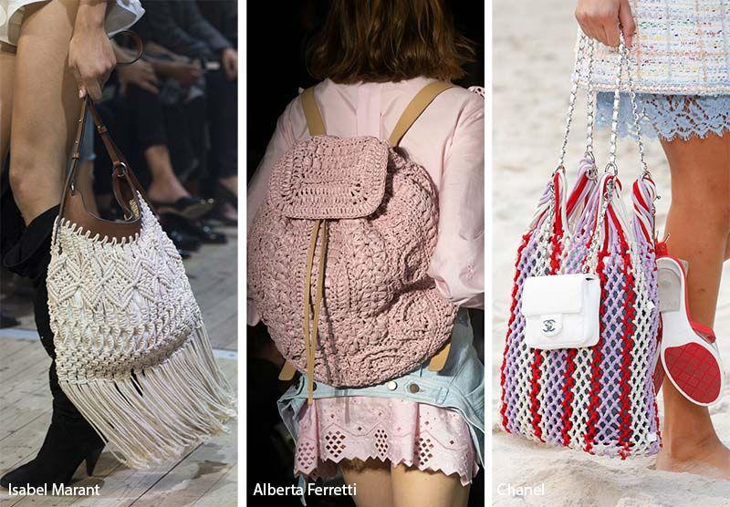 64ad524ee3b6 Spring  Summer 2019 Handbag Trends  Crochet Bags