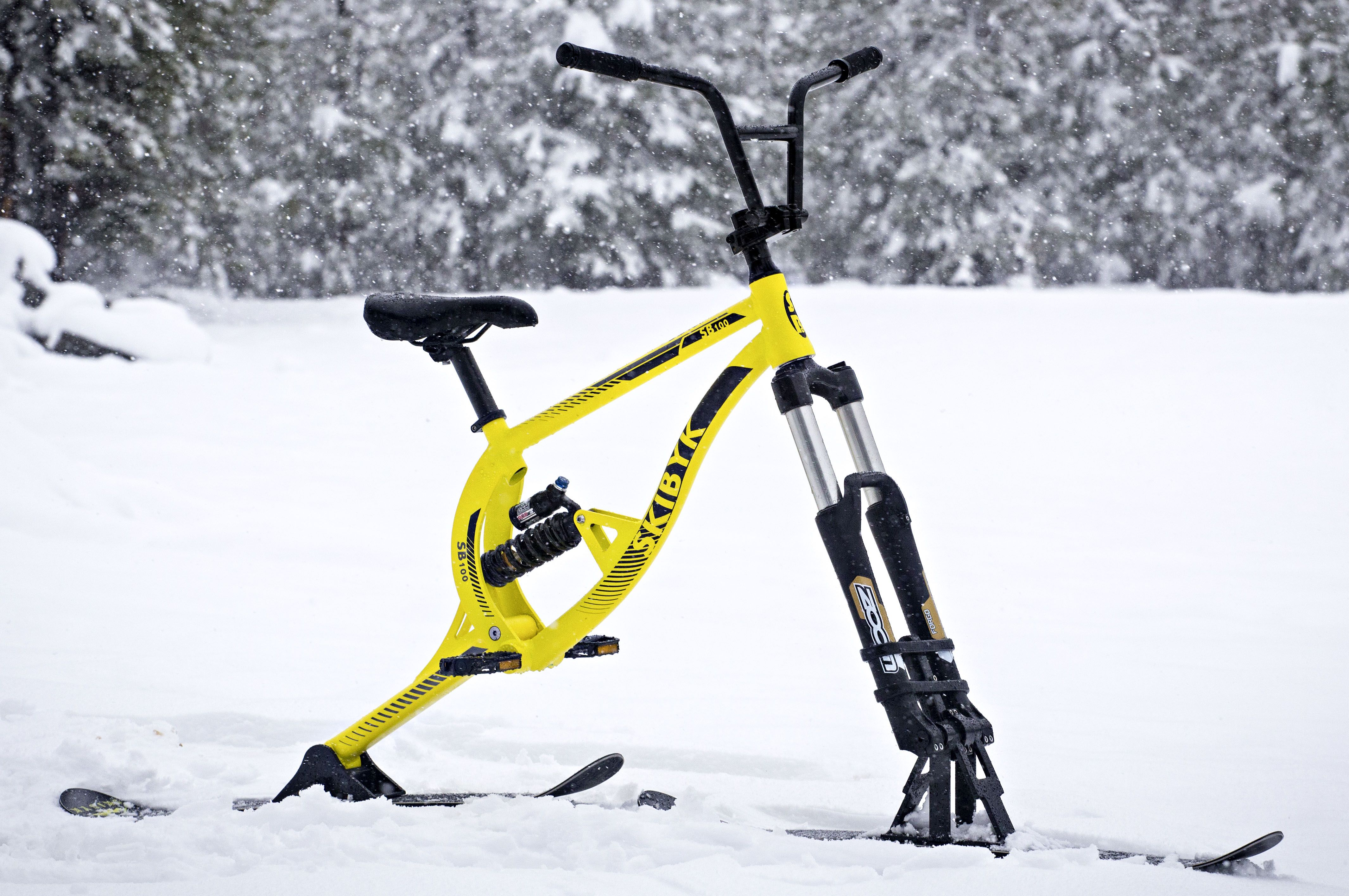 Sb100 All Mountain Ski Bike Skibikes All The Performance You D