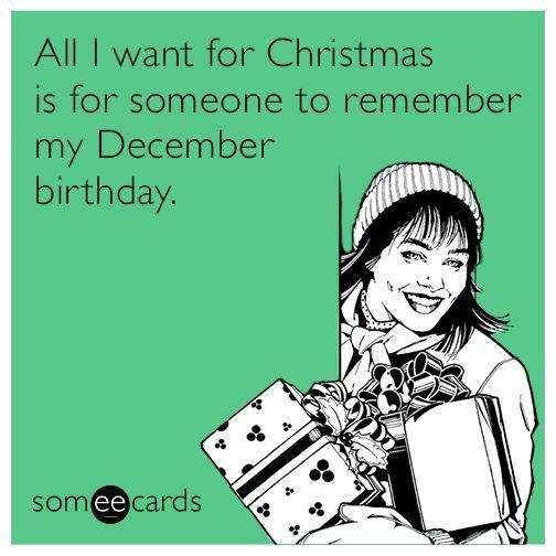 Ecard my December bday