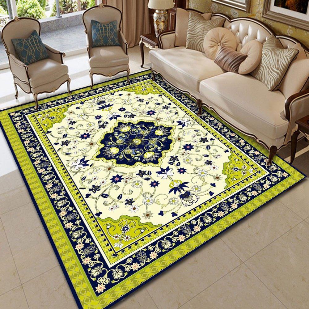 Decorative Pattern Carpet Sitting Room