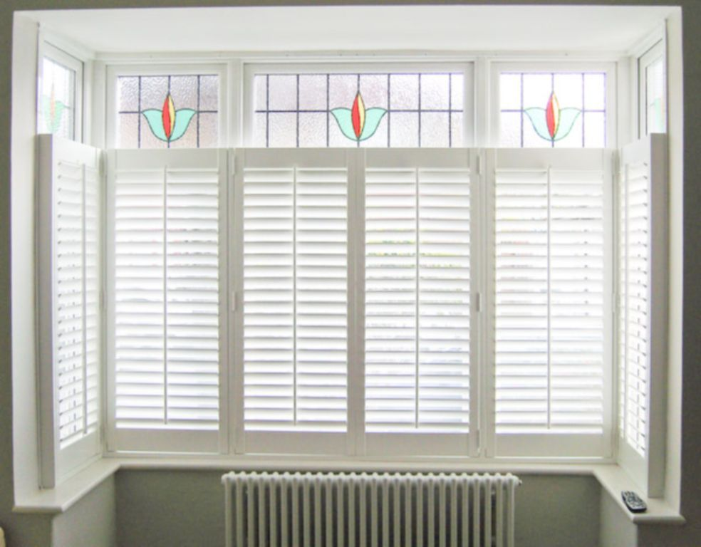 Cafe Style Interior Plantation Shutters For You Home