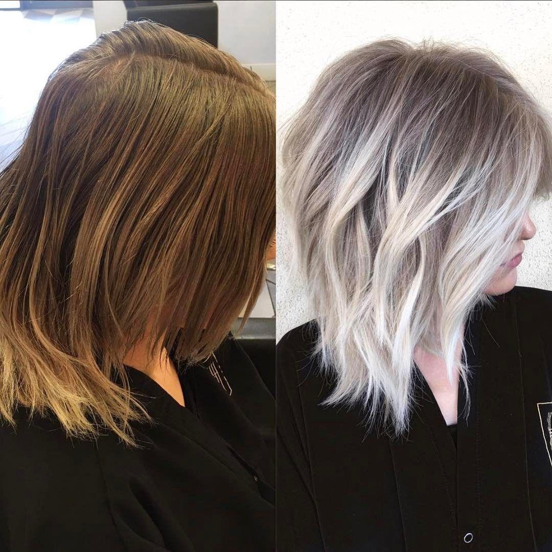 This Transformation Was Done With Olaplex By Hairbymarissasue Of Habitsalon In Gilbert Arizona Pelo Rubio Medio Peinados Poco Cabello Coloración De Cabello