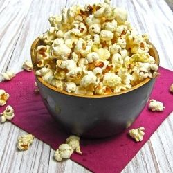 Wasabi Popcorn - a treat for the grown ups!