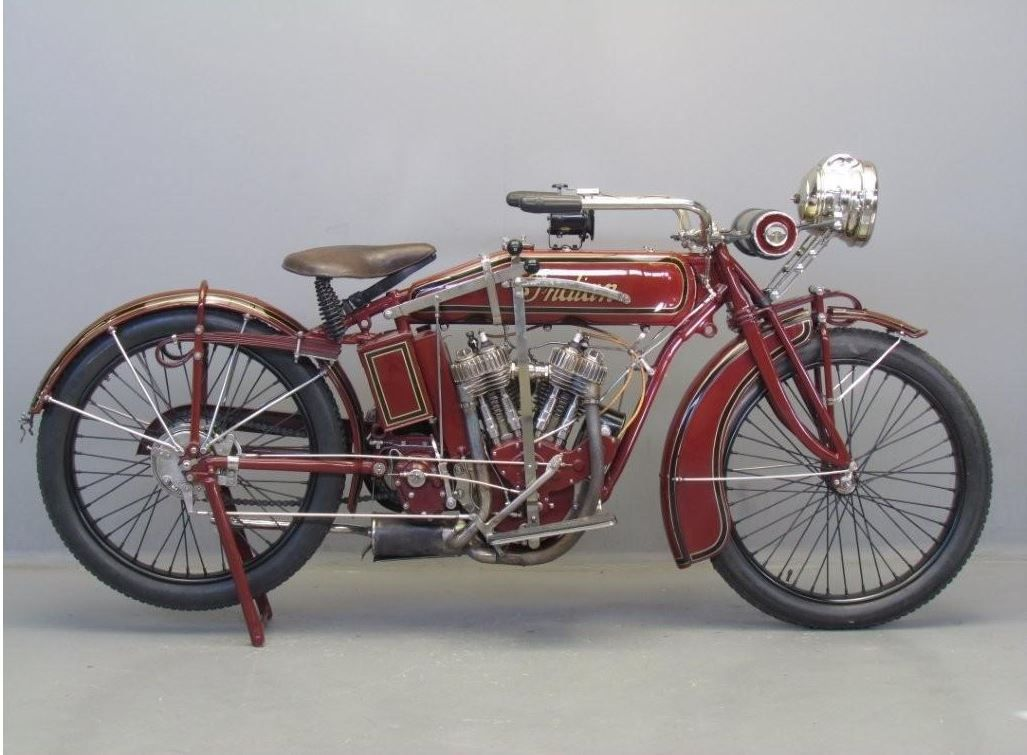 Indian 1917 Powerplus 1000cc 2cyl Sv Classic Motorcycles Classic Bikes Motorcycle