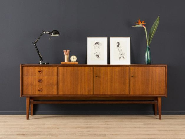 vintage sideboard aus den 50er 60er jahren vintage 50s 60s sideboard by mid century friends. Black Bedroom Furniture Sets. Home Design Ideas