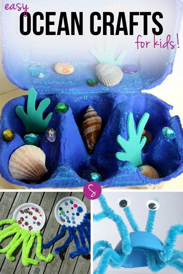10 Under The Sea Crafts For Preschoolers Ocean Theme