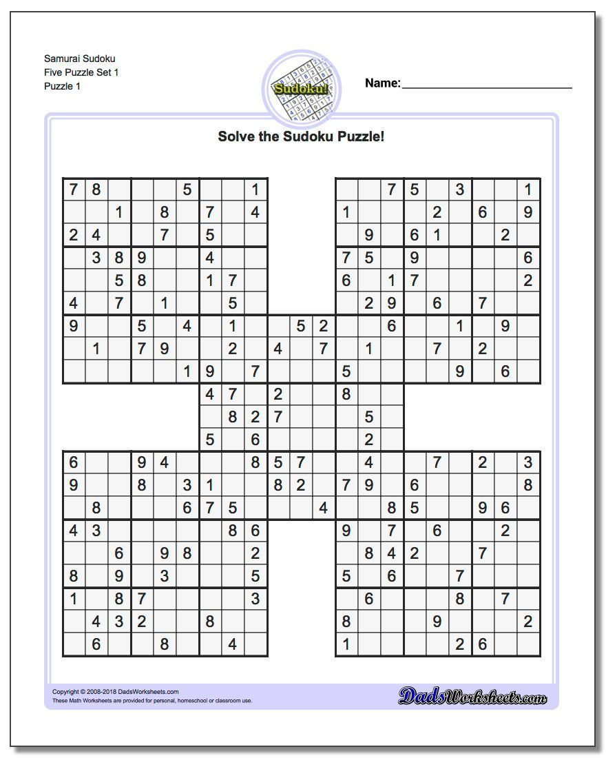 It's just a graphic of Stupendous Multi Sudoku Printable