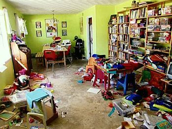 Image result for cluttered home