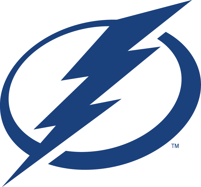Tampa Bay Lightning Primary Logo 2012 A Blue Lightning Bolt On A Blue And White Circle Lightning Logo Tampa Bay Lightning Logo Tampa Bay Lightning