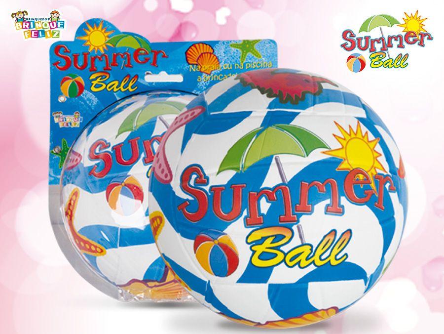 Bola Summer Ball Feita para brincar a vontade!  Super divertido e muito resistente! Conheça melhor nosso catálogo de produtos, acesse: www.brinquefeliz.com.br