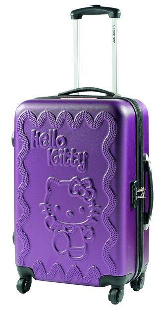 d119074c8 Maleta color Lila modelo Dan de Hello Kitty de venta en www.maletastony.com