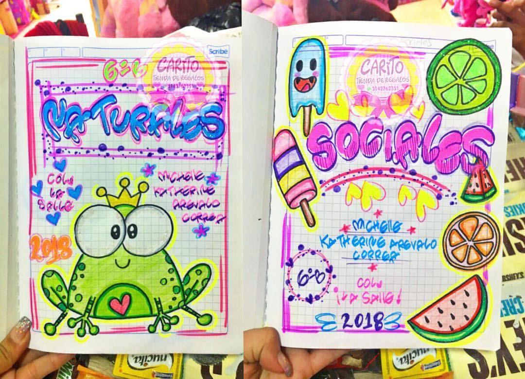 Portadas Para Cuadernos Y Libretas Con DiseÑos Marinos: Temporada Escolar 2018 Marcamos Tus Cuadernos Con