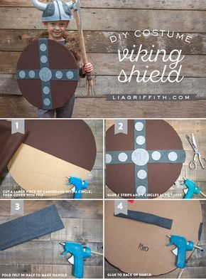 Accessories for DIY Kidu0027s Viking Costume | Viking costume Vikings and Costumes  sc 1 st  Pinterest : simple viking costume  - Germanpascual.Com